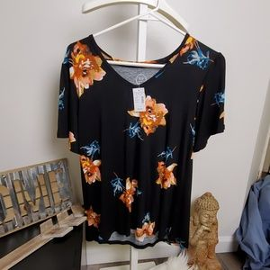 Maurices Floral Top Small
